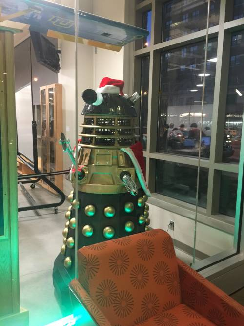 Dalek Eclipse lives in Engineering Hall at Marquette University